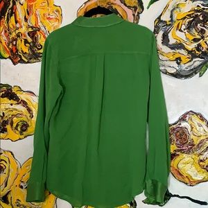 Equipment Tops - Equipment Femme Green Blouse